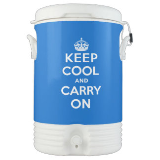 Keep Cool and Carry On Drinks Cooler