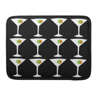 Keep Em Coming Martini MacBook Pro Sleeve black