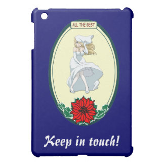 Keep in touch - Oo la la iPad Mini Covers