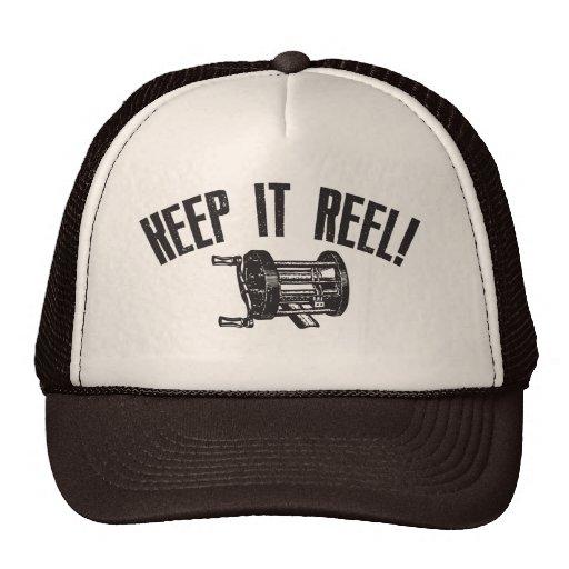 Keep It Reel Trucker Hats