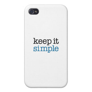 Keep It Simple iPhone 4 Cases