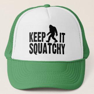 Keep It Squatchy Trucker Hat