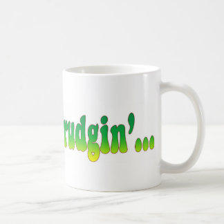 Keep On Trudgin Basic White Mug