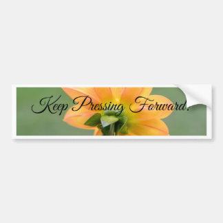 Keep Pressing Forward! Bumper Sticker