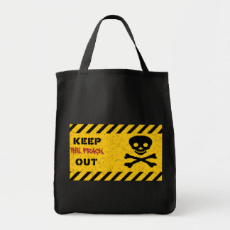 KEEP THE FRACK OUT! Anti-fracking tote bag