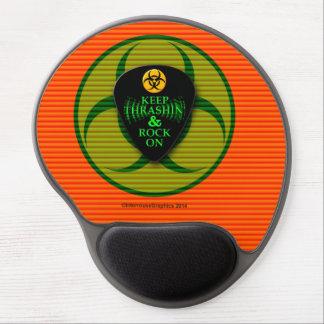 Keep Thrashin' and Rock On Gel Mouse Pad