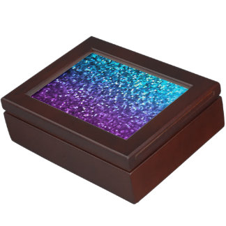Keepsake Box Mosaic Sparkley Texture