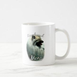 Keeshond Mom 2 Coffee Mug