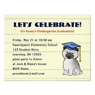 Keeshond Puppy Graduation Announcement