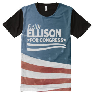 Keith Ellison All-Over Print T-Shirt