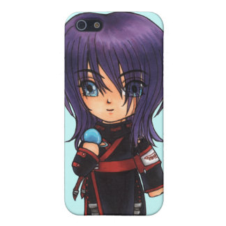 Keith with compact mirror cover for iPhone 5/5S