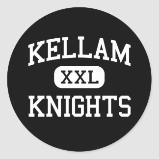 Kellam - Knights - High - Virginia Beach Virginia Round Sticker