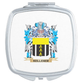 Kelleher Coat of Arms - Family Crest Vanity Mirrors