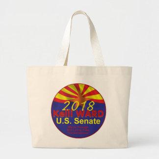 Kelli WARD 2018 Senate Large Tote Bag