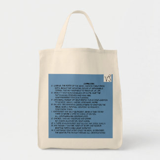 Kelly Capricorn grocery tote