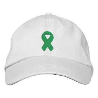 Kelly Green Ribbon Awareness Baseball Cap