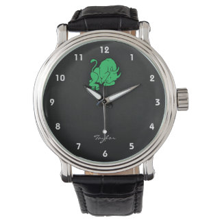 Kelly Green Taurus Watch