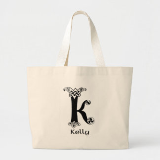 Kelly Surname Large Tote Bag