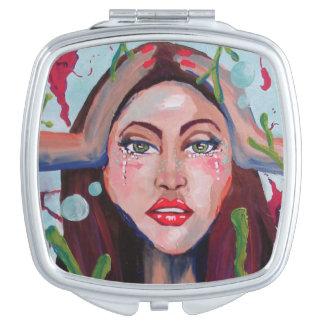 Kelp Travel Mirror