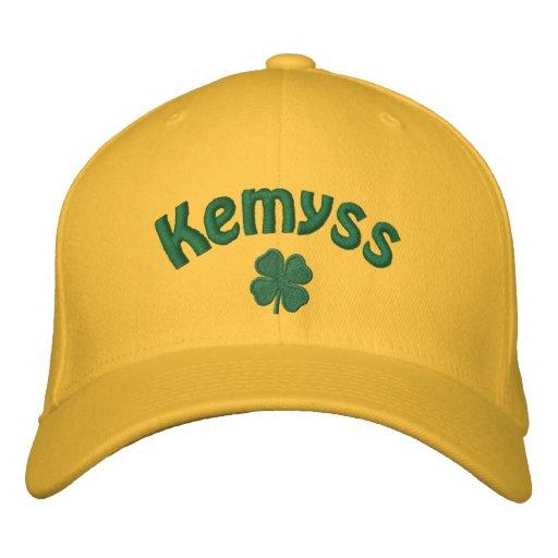 Kemyss - Four Leaf Clover Embroidered Hat