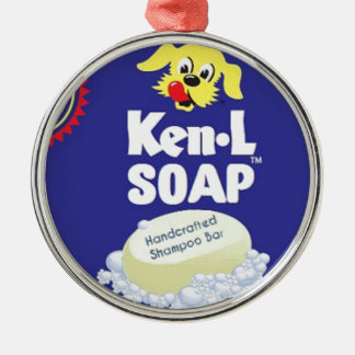 Ken L Soap On A Rope Retrobrands Christmas Ornament