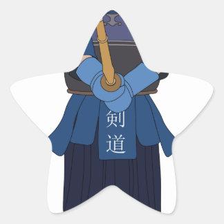 Kendo Fencing Star Sticker