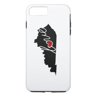 Kentucky Love! Gifts for KY Lovers iPhone 8 Plus/7 Plus Case