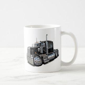 Kenworth w900 Black Truck Basic White Mug