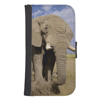 Kenya: Amboseli National Park, male elephant Samsung S4 Wallet Case
