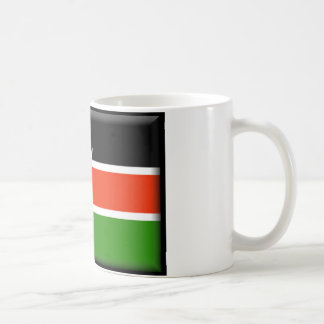 Kenya Flag Coffee Mugs
