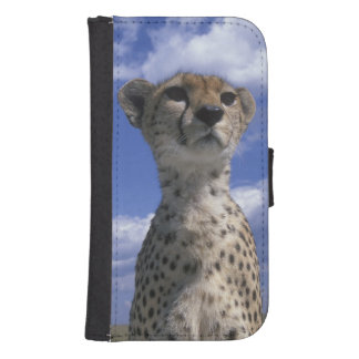 Kenya, Masai Mara Game Reserve, Close-up Samsung S4 Wallet Case