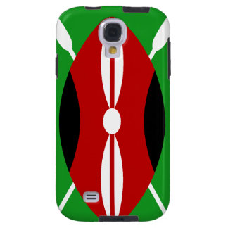 Kenyan Maasai Shield Galaxy S4 Case