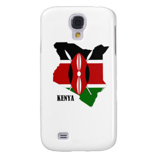 Kenyan Map and Flag Galaxy S4 Case