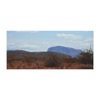 Kenya's Ol doinyo Sabachi Mountain Canvas Print