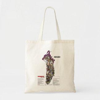 Kenzo Fashion Illustration Budget Tote Bag