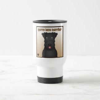 Kerry Blue Terrier Cartoon Coffee Mug