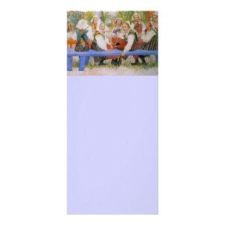 Kersti's Birthday 1909 Rack Card Design