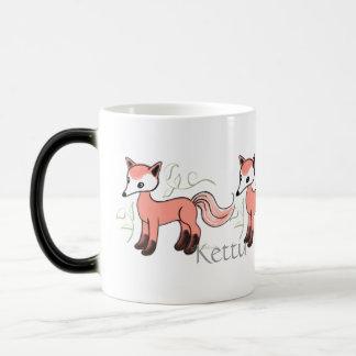 Kettu -- Cute Finnish Fox Morphing Mug