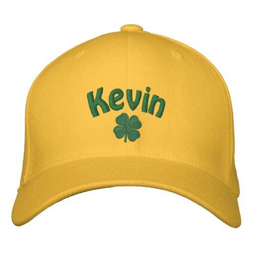 Kevin - Four Leaf Clover Embroidered Hat