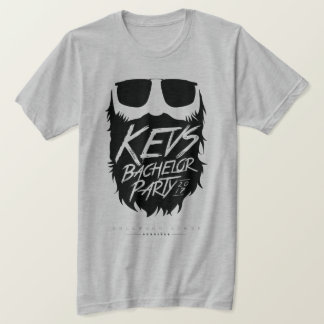 Kevs Bachelor Party Grey-Ghost T-Shirt