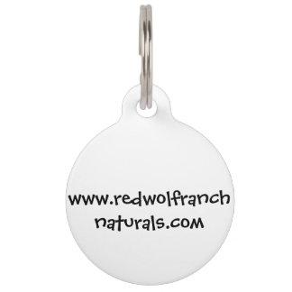 Key Chain; Dog Tag with editable back Pet Name Tags