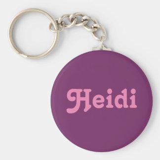 Key Chain Heidi