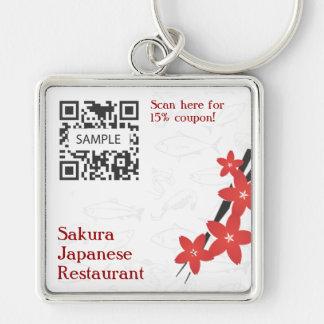Key Chain Template Japanese Restaurant