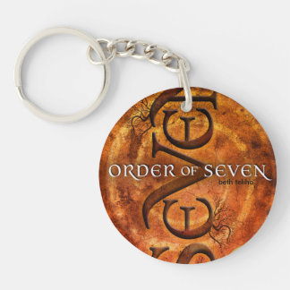 Key chain with cover of Order of Seven