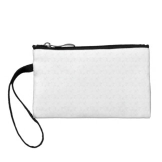 Key Coin Clutch - Silver Crystal Change Purse
