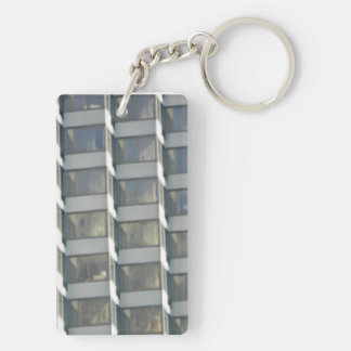 Key fob - Abstract art Double-Sided Rectangular Acrylic Key Ring