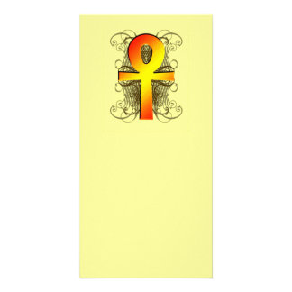 """Key of Life (Ankh)"" in Gold Bookmarks Photo Card"
