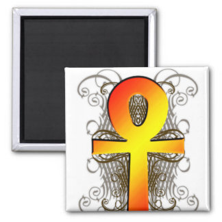 """Key of Life (Ankh)"" in Gold Magnet"