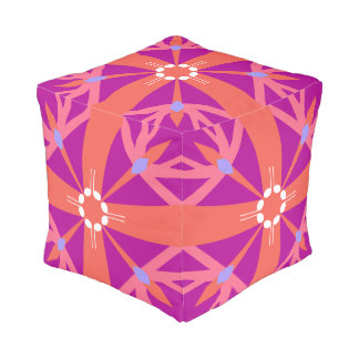 Key Of Life Cube Pouffe