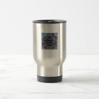 Key of life hand made design travel mug